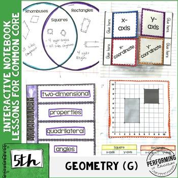 Interactive Math Notebook Common Core Aligned 5th Grade AL