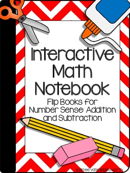 Interactive Math Notebook: Flip Books for Number Sense: Ad