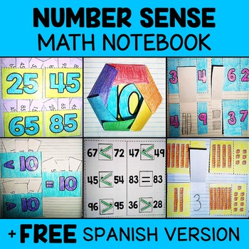 Number Sense Math Interactive Notebook