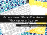 Interactive Math Notebook Management System