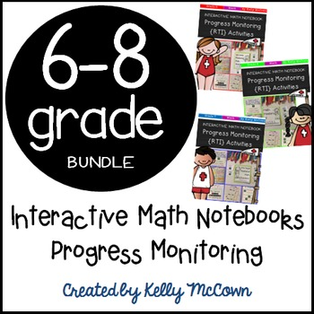 Interactive Math Notebook: Progress Monitoring Activities