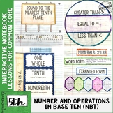 Interactive Math Notebook Common Core Aligned 5th Grade AL