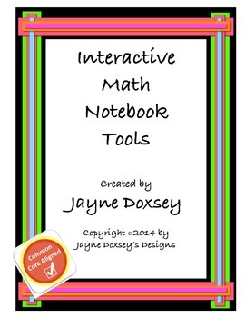 Interactive Math Notebook Tools