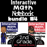 Interactive Math Notebooks Bundle #4 (Addition & Subtracti