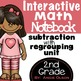 Addition & Subtraction with Regrouping Second Grade Math N