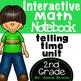 Telling Time, Money, & Geometry 2nd Grade Math Notebook Bundle