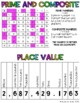 Interactive Math Notebooks Reference Sheets (includes an i