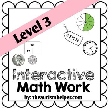 Interactive Math Work Book {Level 3}