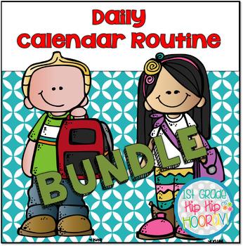 Daily Calendar Routine Bundle! (Growing)