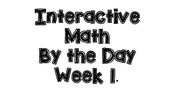 Interactive Math by the Day