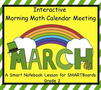 Interactive Morning Math Calendar Meeting SMARTBoard for M