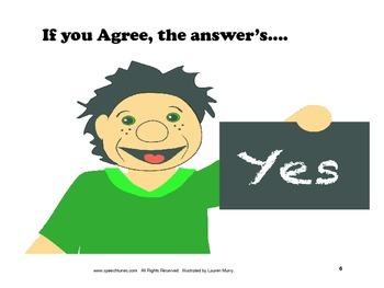 Lesson Plan Bundle: Answering Yes/No Questions Mp3, Pictur