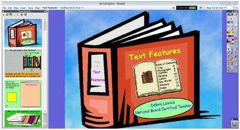 Interactive Non-Fiction Text Feature Flipchart