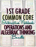 Interactive Notebook: 1st Grade CCSS Operations and Algebr