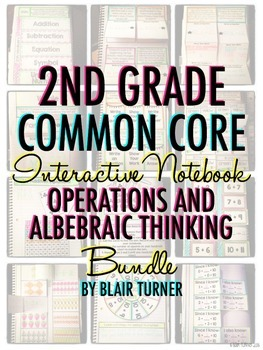 Interactive Notebook: 2nd Grade CCSS Operations and Algebr