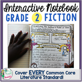 Interactive Notebook: 2nd Grade Reading Literature {Cover