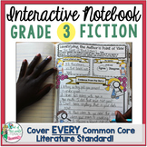 Interactive Notebook: 3rd Grade Reading Literature {Cover