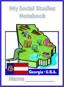 Interactive Notebook 3rd Grade Social Studies Georgia Perf