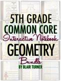Interactive Notebook: 5th Grade CCSS Geometry BUNDLE