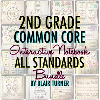 Math Interactive Notebook: 2ND GRADE COMMON CORE