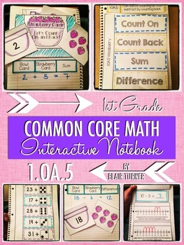 Interactive Notebook Activities - Counting On and Counting