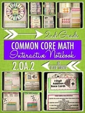Interactive Notebook Activities - Fact Fluency {2.OA.2}
