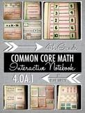 Interactive Notebook Activities - Multiplicative Compariso