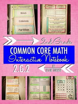 Interactive Notebook Activities - Partition Rectangles int