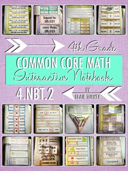 Interactive Notebook Activities - Writing and Comparing Nu