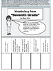 "Interactive Notebook Activities for ""Seventh Grade"" by Gary Soto"