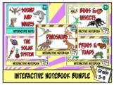 Science Interactive Notebook Bundle Grade 3-6