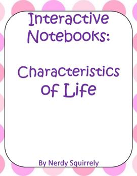 Interactive Notebook Characteristics of Life