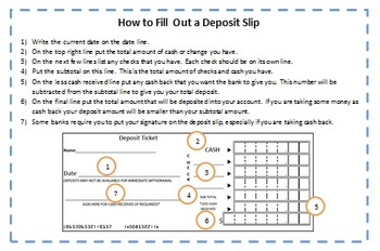 Interactive Notebook Checking Account Info and Practice