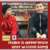 Kindness - make a difference interactive notebook, cool song
