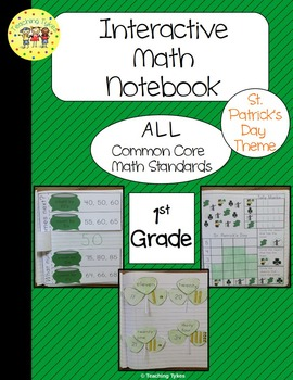 St. Patrick's Day Interactive 1st Grade Math Notebook