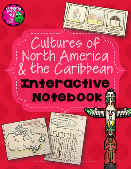 Interactive Notebook Celebrating Cultures of North America