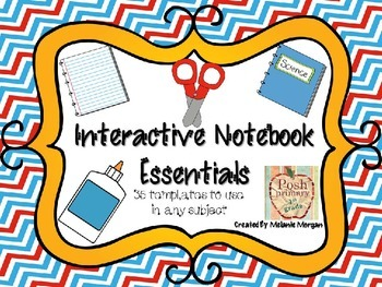 Content-Free Easy Interactive Notebook Essentials