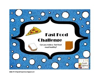 Interactive Notebook Fast Food Challenge - Nutrition / Hea