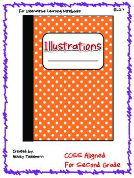 Interactive Notebook: Illustrations RL 2.7 Second Grade