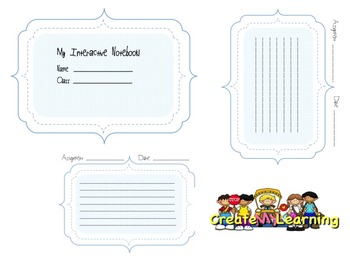 Interactive Notebook Journal Pages