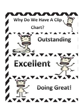 Interactive Notebook Lesson to Introduce Clip Up Clip Down Chart