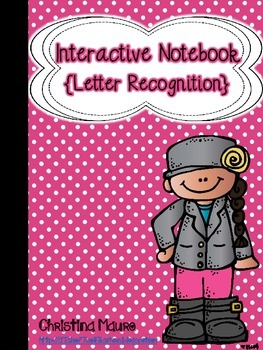 Interactive Notebook {Letter Recognition}