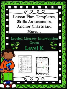 LLI Anchor Charts, Skills Assessments, Lesson Templates Mo
