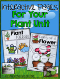 Interactive Notebook Pages For Your Plant Unit
