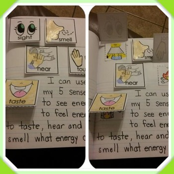 Interactive Notebook Science-Energy: light, sound, heat (E