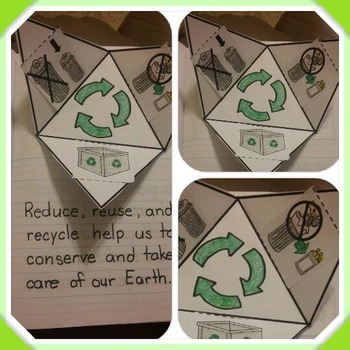 Interactive Notebook Science-Reduce Reuse and Recycle (Spa