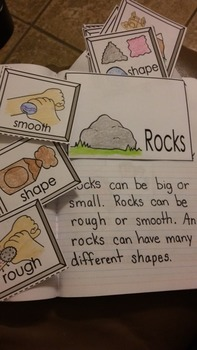 Interactive Notebook Science-Rocks (Spanish and English)