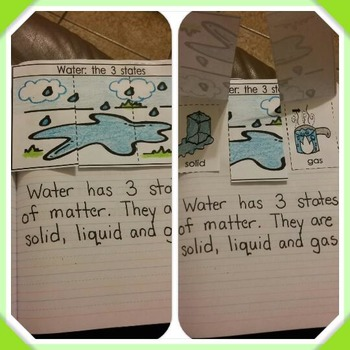 Interactive Notebook Science-Water (English Only)