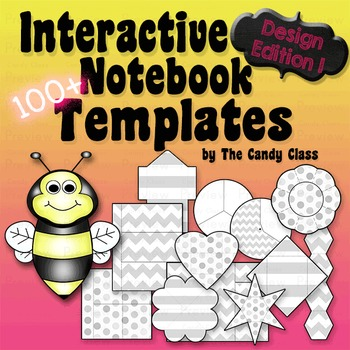 Interactive Notebook Templates 100+ Design Edition 1 (Comm