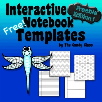 Interactive Notebook Templates Freebie Edition 1 (Commerci